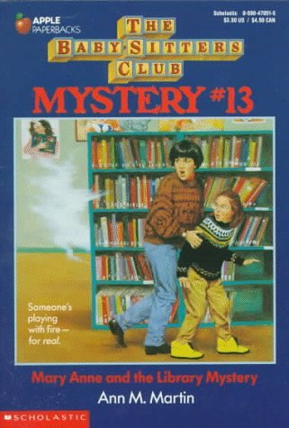 Ann M. Martin Mary Anne & The Library Mystery Baby Sitters Club Mysteries #13