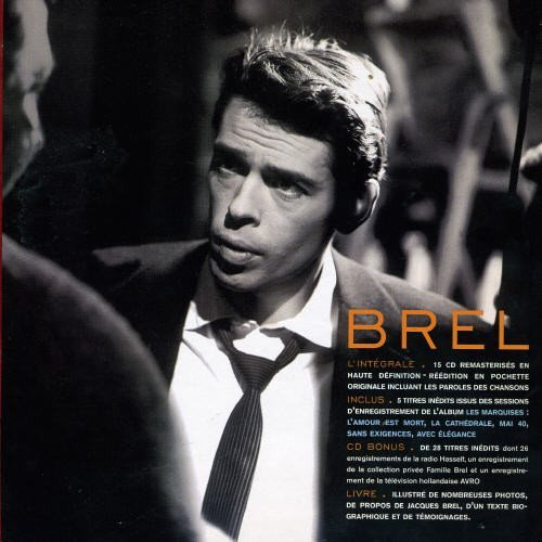 Jacques Brel Jacques Brel Import Eu 15 CD