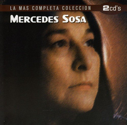 Mercedes Sosa La Mas Completa Coleccion Import Eu 2 CD