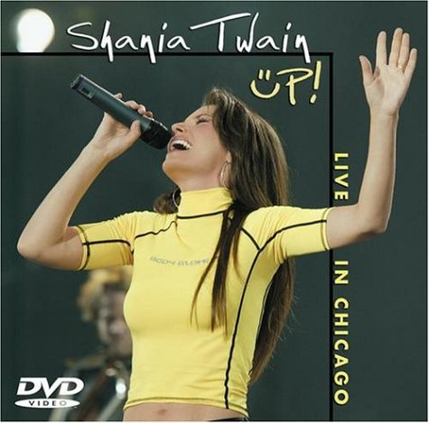 Shania Twain Up! Live In Chicago Jewel Case