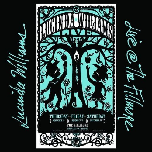 Lucinda Williams Live At The Fillmore 2 CD