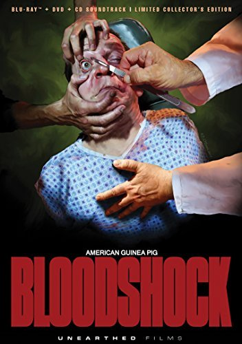 American Guinea Pig Bloodshock Ellis Winton Blu Ray DVD CD Ur