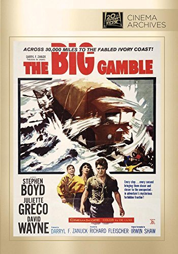 Big Gamble Big Gamble DVD Mod This Item Is Made On Demand Could Take 2 3 Weeks For Delivery