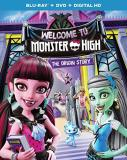 Monster High Welcome To Monster High Blu Ray DVD Dc