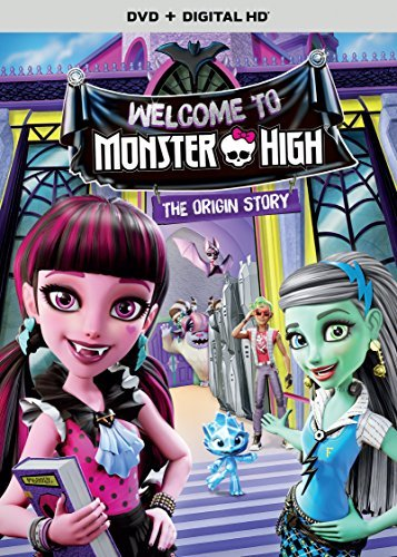 Monster High Welcome To Monster High DVD Dc