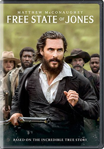 Free State Of Jones Mcconaughey Mbatha Raw DVD R