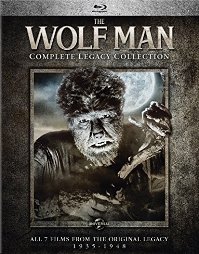 Wolf Man Complete Legacy Collection Blu Ray Nr