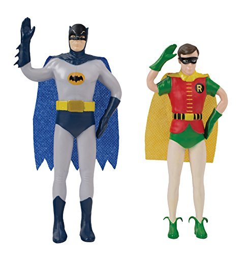 Toy Batman & Robin Bendable 2 Pack