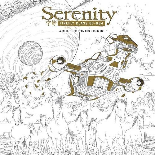 Fox Serenity Adult Coloring Book