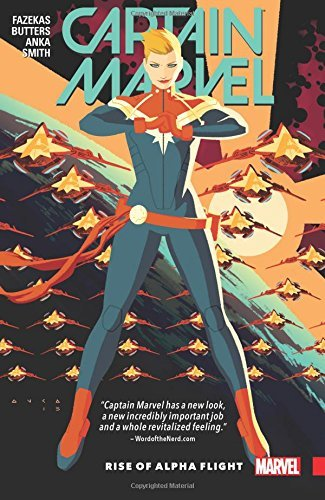 Tara Butters Captain Marvel Volume 1 Rise Of Alpha Flight