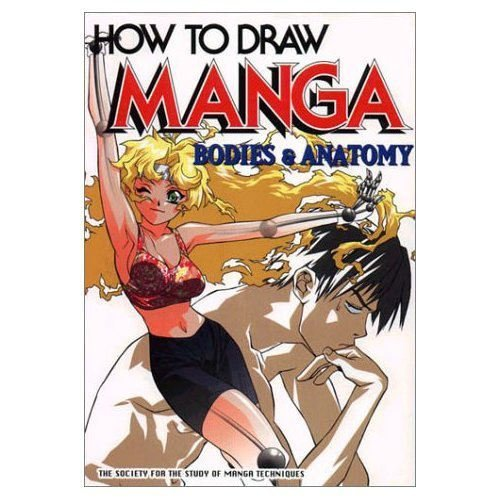 Society For The Study Of Manga Technique How To Draw Manga Bodies & Anatomy