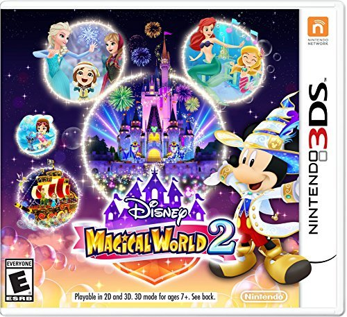 Nintendo 3ds Disney Magical World 2