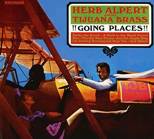 Herb Alpert & The Tijuana Brass !!!going Places!!! 180 Gram Vinyl Includes Download Card