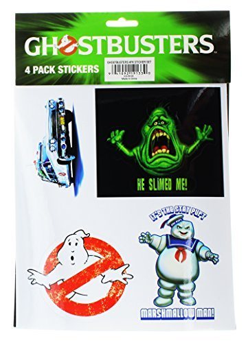 Stickers Ghostbusters 4 Pack Stickers