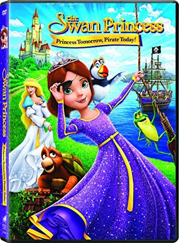 Swan Princess Princess Tomorrow Pirate Today Swan Princess Princess Tomorrow Pirate Today DVD Pg