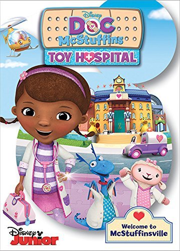 Doc Mcstuffins Toy Hospital DVD