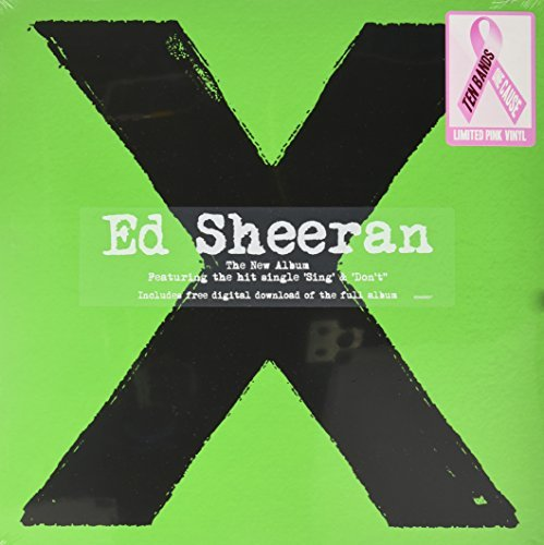 Ed Sheeran X (pink Vinyl) Ten Bands One Cause