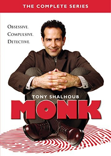 Monk The Complete Series DVD