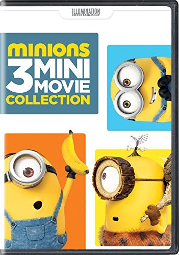 Minions 3 Mini Movie Collection DVD