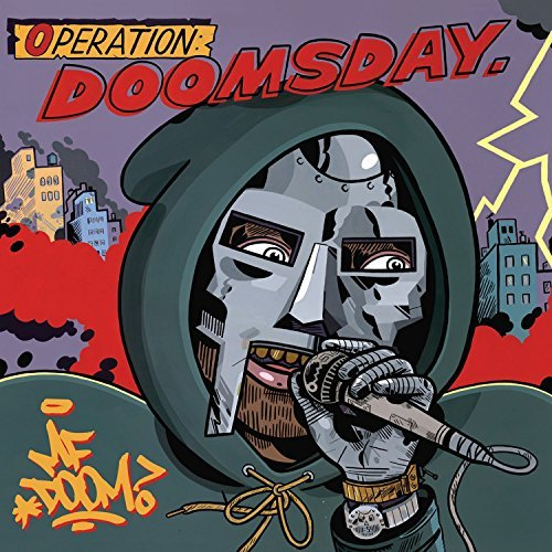 Mf Doom Operation Doomsday (lunch Box Cover Art)