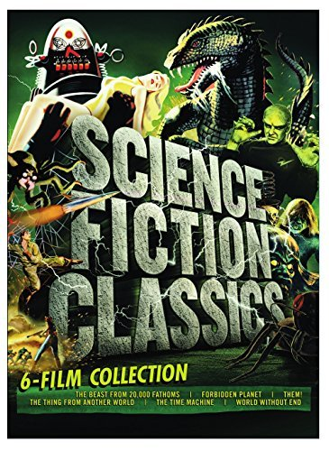 Science Fiction Classics 6 Film Collection DVD