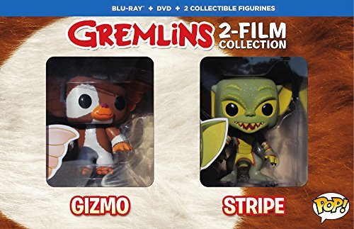 Gremlins Double Feature Blu Ray DVD W Funko Pop Figurines