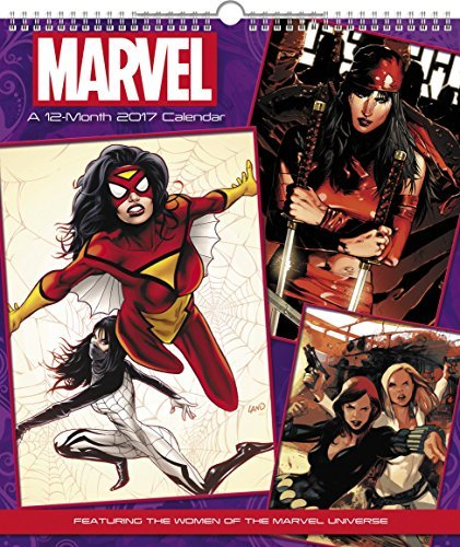 Calendar 2017 Women Of Marvel Universe