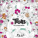 Random House The Official Trolls Coloring Book