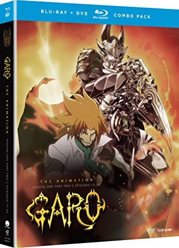 Garo The Animation Season 1 Part 2 Blu Ray DVD