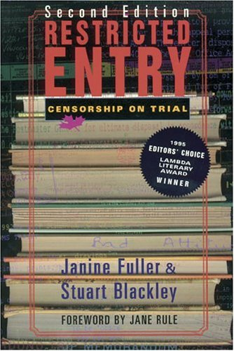 Janine Fuller & Stuart Blackley Restricted Entry Censorship On Trial