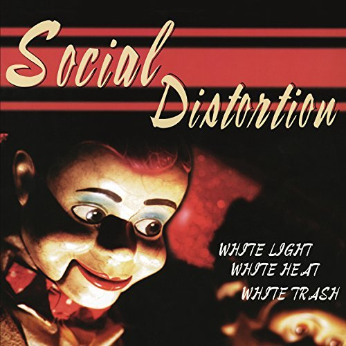 Social Distortion White Light White Heat White Trash Pressed On White Vinyl.