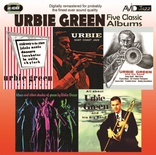 Urbie Green 5 Classic Albums Import Eu 2 CD