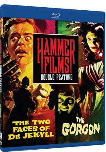 Two Faces Of Dr. Jekyll Gorgon Hammer Film Double Feature Blu Ray