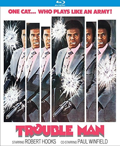 Trouble Man Hooks Winfield Blu Ray R