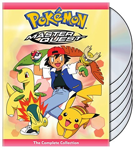 Pokemon Master Quest The Complete Collection DVD
