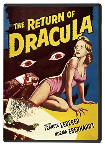 Return Of Dracula Lederer Eberhardt DVD Pg