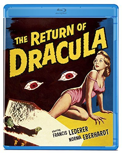 Return Of Dracula Lederer Eberhardt Blu Ray Pg