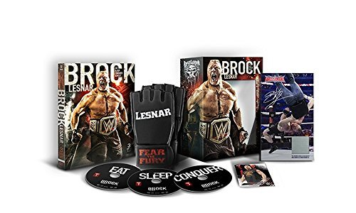 Wwe Brock Lesnar Eat. Sleep. Conquer. Repeat. DVD Limited Edition