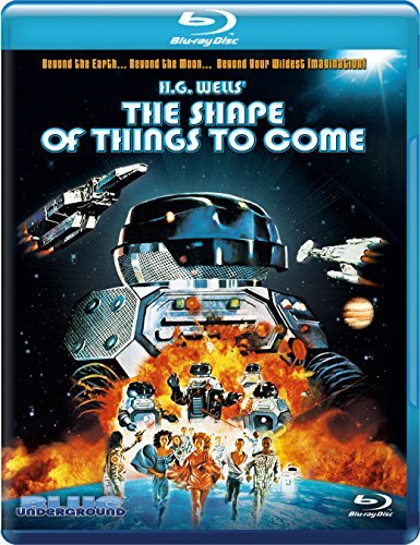 Shape Of Things To Come Palance Morse Lynley Campbell Blu Ray Pg