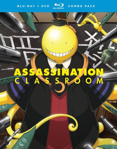 Assassination Classroom Season 1 Part 2 Blu Ray DVD