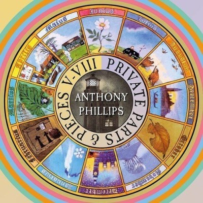 Anthony Phillips Private Parts & Pieces V Viii Import Gbr Box Set Deluxe Ed.