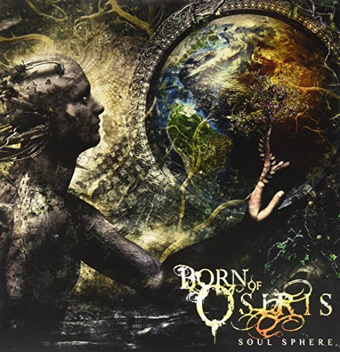 Born Of Osiris Soul Sphere (marble White Lunar Moon Colored Vinyl)