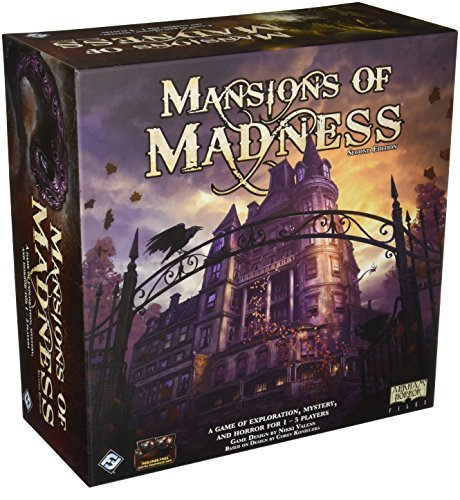 Board Game Mansions Of Madness 2nd Edition
