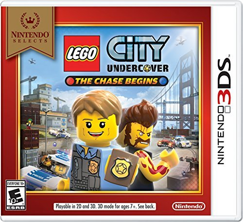 Nintendo 3ds Lego City Undercover The Chase Begins (nintendo Selects)