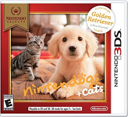 Nintendo 3ds Nintendogs + Cats Golden Retriever & New Friends (nintendo Selects)
