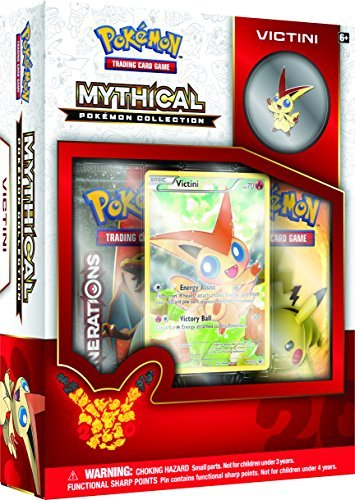Pokemon Cards Mythical Victini Collection