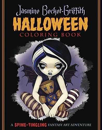 Jasmine Becket Griffith Jasmine Becket Griffith Halloween Coloring Book A Spine Tingling Fantasy Art Adventure