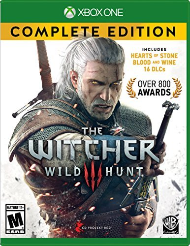 Xbox One Witcher Wild Hunt Complete Edition