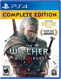 Ps4 Witcher Wild Hunt Complete Edition