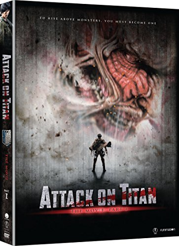 Attack On Titan The Movie Part 1 DVD